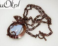 u Oli: Doskonalę technikę wire wrapping i chainmaille