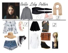 """""""Belle"""" by star-princess-882 on Polyvore featuring Old Navy, Levi's, Forever 21, Converse, Chicwish, Clarks Originals, Alaïa, Warner Bros., Barneys New York and Melissa Odabash"""