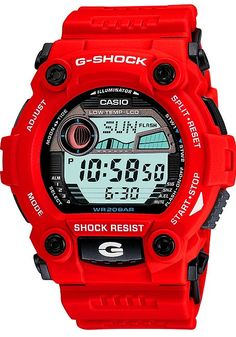 Find Casio Casio Men's G-Shock Rescue Red Digital Sport Watch online. Shop the latest collection of Casio Casio Men's G-Shock Rescue Red Digital Sport Watch from the popular stores - all in one Casio G-shock, Casio Watch, G Shock Watches Mens, Sport Watches, Cool Watches, Watches For Men, Men's Watches, Unusual Watches, New G Shock