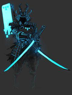 Tron - Tron_Samurai 2 by ~SuperKusoKao So badass!