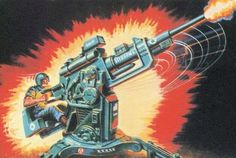 Flak - Field Light Artillery Kannon - my first GI Joe toy