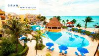 Riviera Maya Vacations - Gran Porto Resort and Spa Playa del Carmen - All-Inclusive - Extraordinarily exotic and stylish with an air of historical grace, Gran Porto Resort is an all-inclusive resort offering outstanding service.