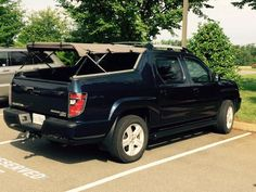 Ready For Adventure Check Out This Honda Ridgeline Bed
