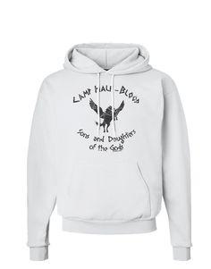 TooLoud Camp Half-Blood Sons and Daughters Hoodie Sweatshirt