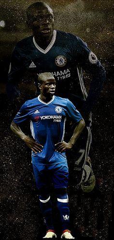 N'Golo Kanté & chelsea Chelsea News, Fc Chelsea, Chelsea Football, Watch Football, Sport Football, Neymar, Chelsea Wallpapers, Chelsea Premier League