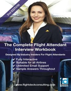 The Complete Flight Attendant Interview Work Book by Sasha Robinson