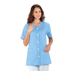 Tunique Médicale Femme Lubecca Bleu