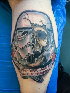 Storm trooper by Johan Ankarfyr @ Crooked moon Tattoo stockholm sweden