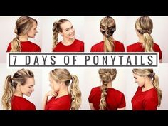 7 Beautiful New Versions of the Ponytail | TipHero