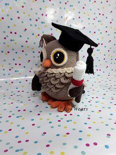 [Free Pattern] Wisdom The Graduation Crochet Owl