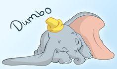 Dumbo by Tallychyck on DeviantArt Disney Pixar, Arte Disney, Disney Fan Art, Disney Love, Disney Magic, Disney Characters, Dumbo Disney, Disney Stuff, Dumbo Cartoon