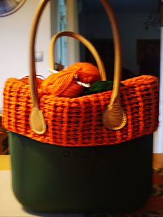 handmade creations for obag O Bag, Picnic, Basket, Crochet, Handmade, Crochet Hooks, Hand Made, Crocheting, Craft