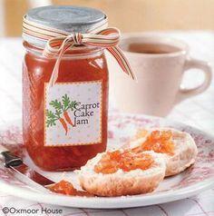 Carrot Cake Jam - a wonderful jam that tastes just like Grandma's carrot cake!