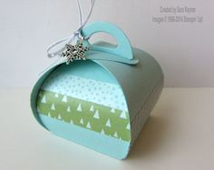Curvy keepsake box, using supplies from Stampin' Up! www.craftingandstamping.com #stampinup