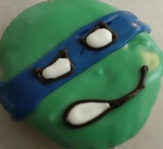 O'doodleDoo's Donuts, Suffolk, VA...ninja turtle donuts Suffolk Va, Halloween Donuts, Delicious Donuts, Hand Designs, Ninja, Birthday Ideas, Turtle, Cookies, Coffee