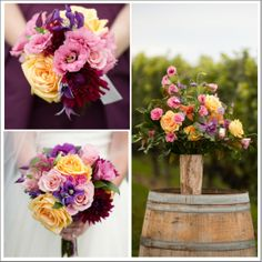 Fall Rustic Wedding Flowers
