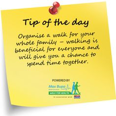 Walking Tip #2