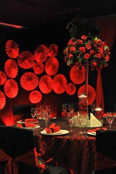 Moulin rouge bridal party