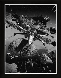 Chris Skinner - View Point Star Wars Prints - X-Wing