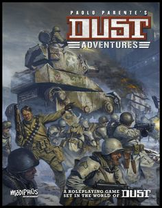 Modiphius announce DUST Adventures RPG