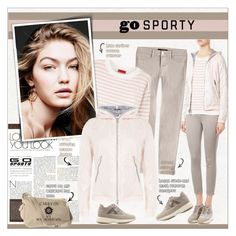 """""""Go Sporty!"""" by alves-nogueira ❤ liked on Polyvore featuring Duvetica, J Brand, HUGO, Hogan, sporty, sportstyle and polyvoreeditorial"""