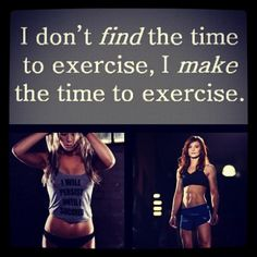 Make Exercise a Priority