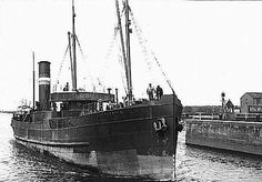 SS Castlehill. The cargo ship was bombed and sunk in the Bristol Channel off Minehead, Somerset by Heinkel He 111 aircraft of Kampfgeschwader 27, Luftwaffe with the loss of all but one crew
