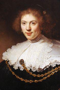 Rembrandt Harmensz. van Rijn, 1606–1669  Portrait of a Woman Wearing a Gold Chain1634
