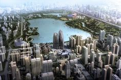 The Chaoyang Park project in China is using the ancient philosophy of Shan-Shui as a guideline for building architecture that unites with nature