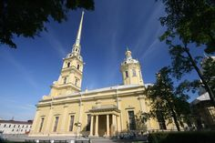 **Peter and Paul Cathedral (resting place of the tsars) - St. Petersburg, Russia