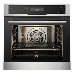 Buy Electrolux Built-in Steam Oven With Food Probe - Stainless Steel With Antifingerprint Coating from Appliances Direct - the UK's leading online appliance specialist Built In Electric Oven, New Oven, Single Oven, Stove Oven, Oven Range, Oven Cooking, Fett, Kitchen Accessories