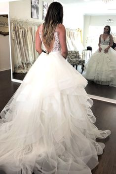 Wedding Dress Shopping at Malindy Elene in Tampa, FL (Made With Love Frankie with Tulle Skirt) Wedding Dress Shopping, Wedding Dresses, Tulle, Skirts, Fashion, Bride Dresses, Moda, Bridal Gowns, Skirt