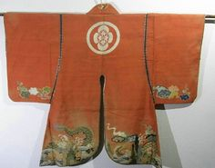Japan, jinbaori, jacket worn by samurai, it has dragon motif, which is woven with Tsume tsuzure technique, one threads by one threads, it was woven elaborately with nails, and it had to be taken incredibly long time to be completed.