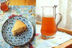 Yoghurt date cake with orange honey syrup..yum!!