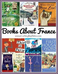 Picture Books About France for Kids collage French Teacher, French Class, Teaching French, French Lessons, Preschool At Home, Preschool Ideas, Children's Books, Library Books, France For Kids