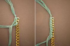 woven charm bracelet - how to vi HWTF