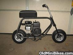 Just got a new Mini Bike Frame =) - OldMiniBikes.com Forum
