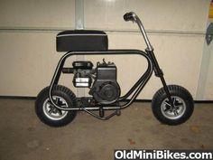 Just got a new Mini Bike Frame =) - OldMiniBikes.com Forum