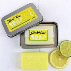 Gin And Tonic Moisturising Gift Soap