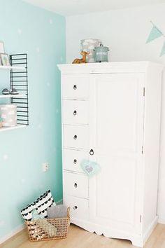 Op ons blog: binnenkijker in een mintgroene babykamer - #wonenvoorjou