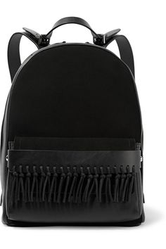 3.1 Phillip Lim | Bianca mini fringed leather and suede backpack | NET-A-PORTER.COM