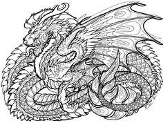 Dragon Coloring Pages Dragon Coloring Pages. Here is Dragon Coloring Pages for you. Dragon Coloring Pages coloring pages for adults dragon pusat hobi. Dragon Coloring Pages Detailed Coloring Pages, Adult Coloring Book Pages, Coloring Pages To Print, Colouring Pages, Printable Coloring Pages, Coloring Books, Scooby Snacks, Mandala Dragon, Dragon Art