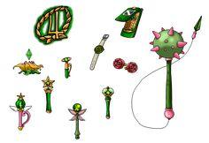 NSG Sailor Jupiter's Items by nads6969.deviantart.com on @DeviantArt