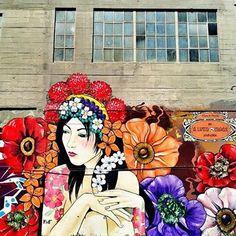 Artist: ALYNN #streetart
