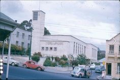 LDS Chapel, 2 Scotia Pl, Queen St, Auckland. Early 1960's