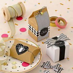 Emballage Créatif Noir & Blanc
