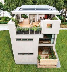 可能性は無限大。+αのスカイコテージがあるヘーベルハウスの2.5階スタイルの家
