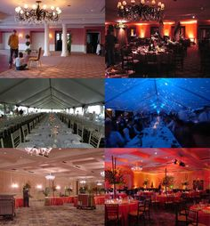 I want to take every BRIDE who ISN'T considering LIGHTING and just SHAKE HER! Haha! It is a MUST! A Necessity! It completely transforms any space! FYI David Tutera would shake you too! LOL