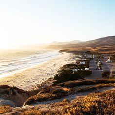 Secluded sands in Santa Barbara County.
