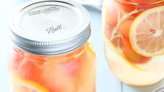 Cantaloupe, Mason Jars, Fruit, Drinks, Food, Drinking, Mason Jar, Drink, Meals